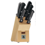 Juego Classic Line de 5 cuchillos y afilador chaira con soporte