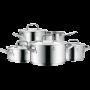 Set de Cacerolas Gourmet Plus de acero inoxidable | 5 piezas