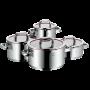 Set de Cacerolas Function 4 de acero inoxidable | 4 piezas