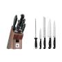 Juego Spitzenklasse Plus de 4 cuchillos y afilador chaira con soporte