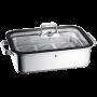 Fuente de cocción al vapor Vitalis de acero inoxidable 6,5 L