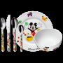 Juego niños de 6 piezas Mickey Mouse