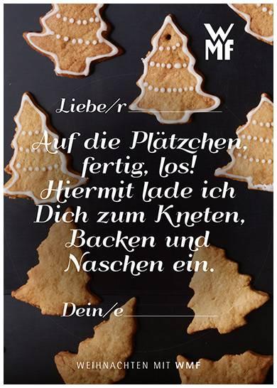 WMF Weihnachtsgrußkarte 2