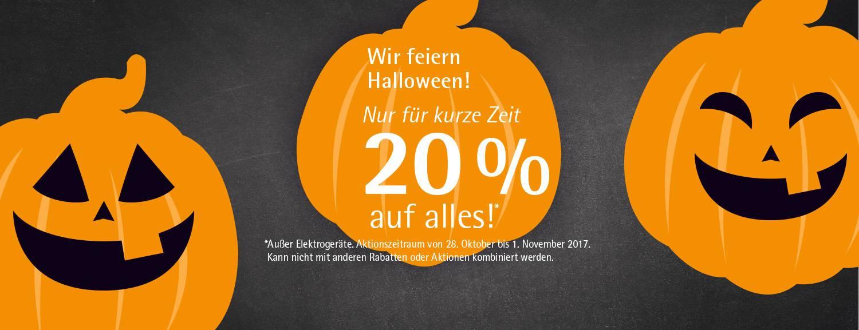 Halloween-Rabatt