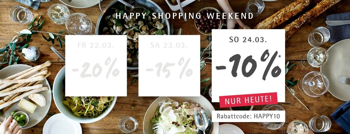 Happy Shopping Weekend - Tag 3