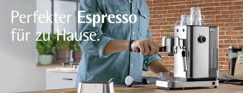 Perfekter Espresso für zu Hause.