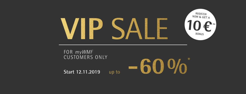 VIP Sale starts soon