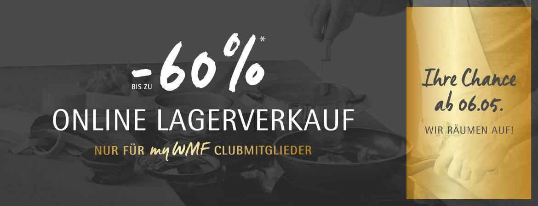 Online Lagerverkauf - bis zu -60% sparen!