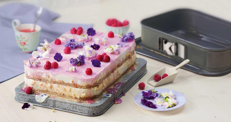Himbeer-Limetten-Torte