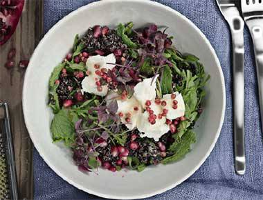 Quinoa Salad With Rocket And Goats Cheese