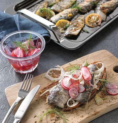 Crostini mit marinierten Sardinen