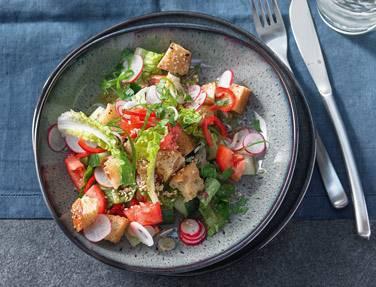 Orientalischer Fatousch-Salat
