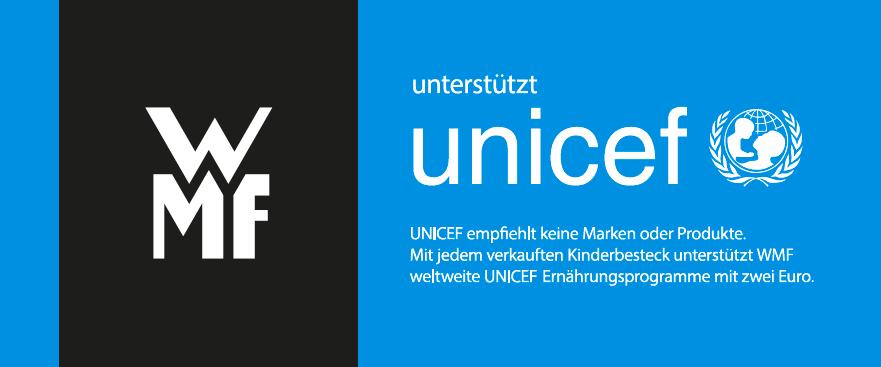 WMF unterstützt unicef