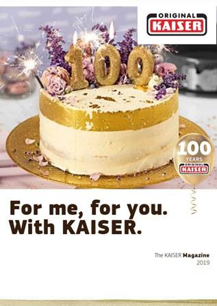 For me, for you  With KAISER